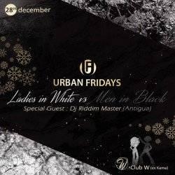 Urban Fridays   Ladies in White Men in Black