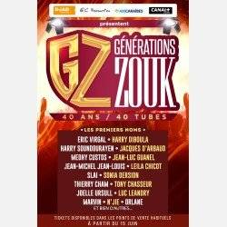 16/11 GENERATIONS ZOUK 40 ANS/ 40 TUBES