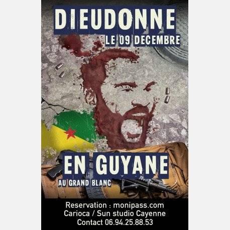 Dieudonné en Guyane