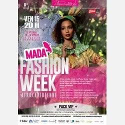 MADA Fashion Week Afrocaribéenne (PACK VIP)