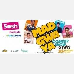MADGWAYA  Comedy Show (INÉDIT) avec GSL,  SAFIA ENJOYLIFE, MAT LE BUZZ & CLEEVELAND