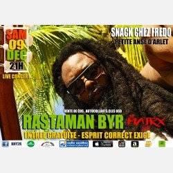 REGGAE LIVE MARTINIQUE Rastaman Byr en concert