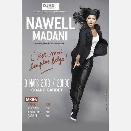 NAWELL MADANI « C'est moi la plus belge »