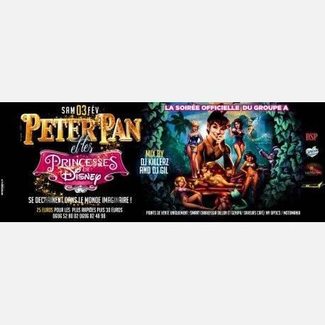 PETER PAN & les PRINCESSES de DISNEY