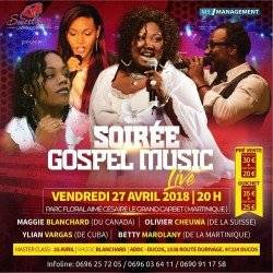 GOSPEL MUSIC LIVE ( Maggie BLANCHARD, Olivier CHEUWA, ...
