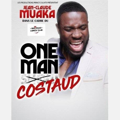 "Jean Claude Muaka Dans ""One Man Costaud"" a MADIANA"