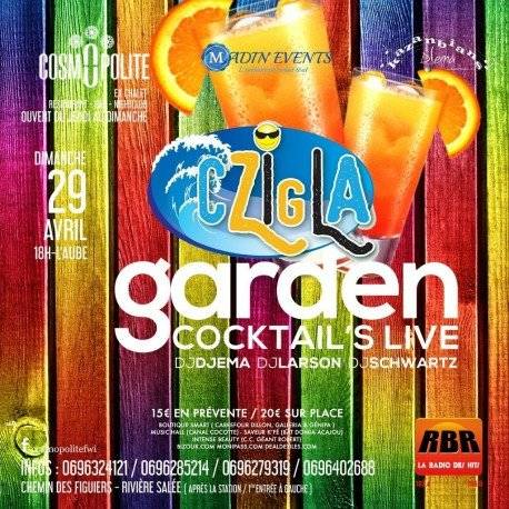 La Garden Cocktail's Live