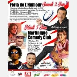 Martinique Comedy Club JUIN 2018