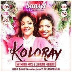 KOLORAY au Sunset