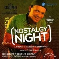 La Nostalgy Night Spécial Patrick SAINT ELOI