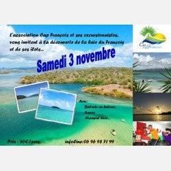Excursion découverte des îlets du François