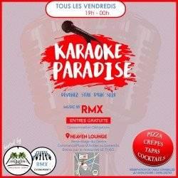 """LES VENDREDIS """"KARAOKE PARADISE"""""""
