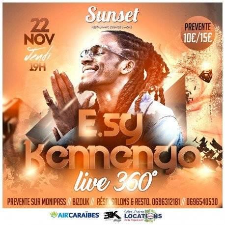 E.sy KENNEGA en LIVE 360° au Sunset
