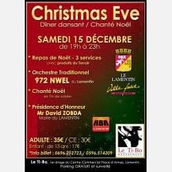 Christmas Eve Repas Chanté Noel Avec Le Groupe 972 Nwel