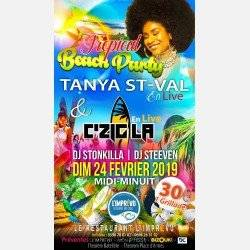 Tropical Beach Party à L'Imprévu