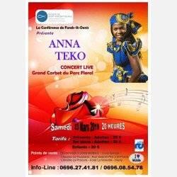 Anna Teko en Live