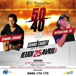 SIMON JURAD & OPERATION 78 50/40 TOUR