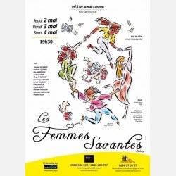 LES FEMMES SAVANTES 2 mai