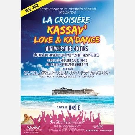 CROISIERE KASSAV' Love&Ka'Dance 40ans