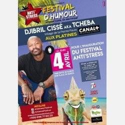 Jeudi 4 Avril Soirée Djibril Cissé (inauguration du festival Anti'Stress