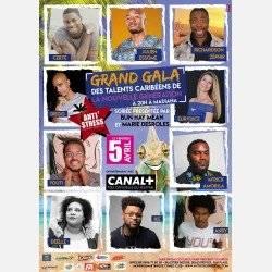 Festival Anti'Stress: Vendredi 5 Avril Grand Gala de la nouvelle Génération d'humoriste Caribéen