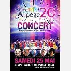 La Chorale Arpège fête ses 20 ans !