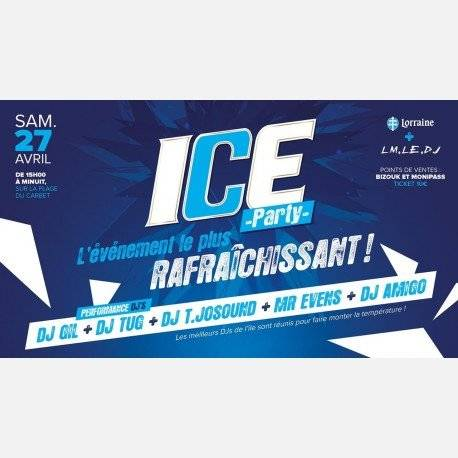 Ice Party by Lorraine + LM.LE.DJ