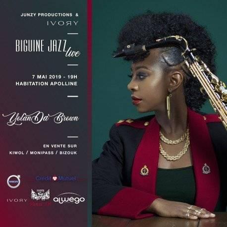 Biguine Jazz Live Yolanda Brown