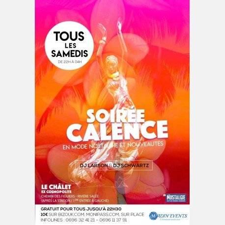 La SOIREE CALENCE en Mode NostalgieS & Nouveautés au Chalet