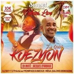 KOEZYON & Jacques D'Arbaud au Sunset