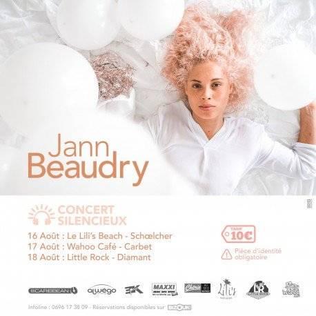 JANN BEAUDRY EN CONCERT SILENCIEUX MARTINIQUE