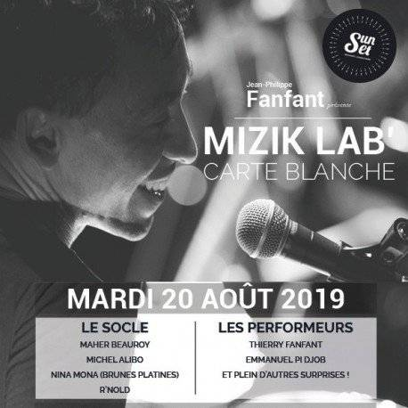 MIZIK LAB by J phi Fanfant au Sunset