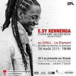 E.SY KENNENGA EN CONCERT SILENCIEUX AU CHILL
